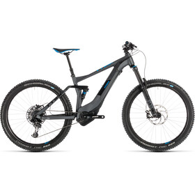 Cube Stereo Hybrid 140 Race 500 E-MTB fullsuspension grå/sort